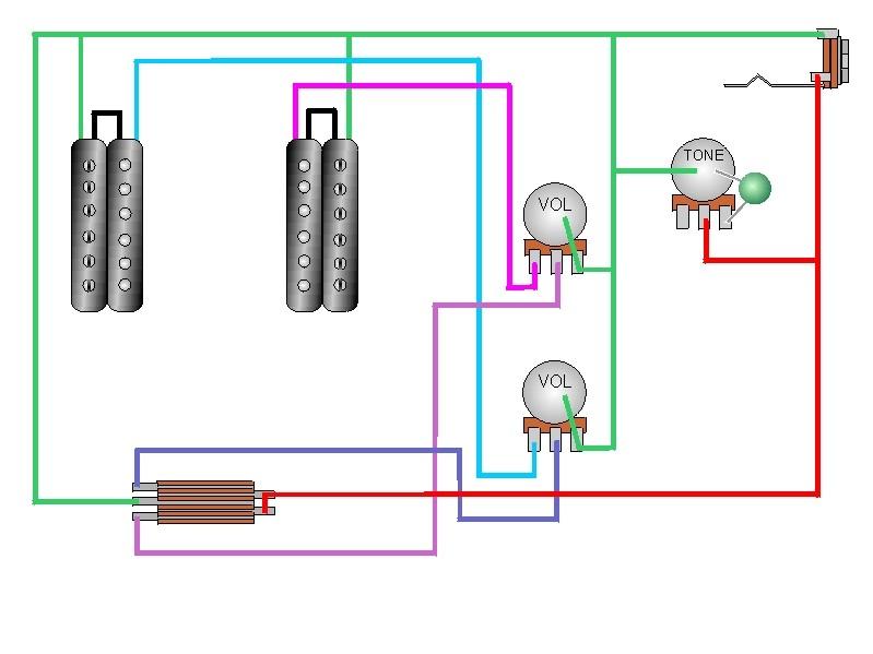 tech09  Humbuckers Vol Tone Way Super Switch Wiring Diagram on